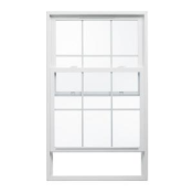 Silverline <br>Series 2200<br> New Construstion <br>Single Hung w/ Grids