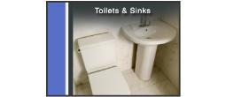 Toilets & Sinks