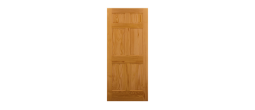 6ANELPINE - 6 Panel Clear Pine