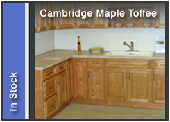 Cambridge Maple Toffee Cabinets