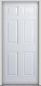 6PANFIB - 6 Panel Fiberglass Door<br> Pre-Hung <br>$220.00