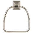 STONEGTOWELRING - Baldwin Stone Gate <br> Towel Ring <br> Satin Nickel <br> $8.99