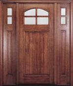 MAHTC400 - MAI 4 Lite <br>Arch Mahogany Door <br>Pre-Hung <br>$1,550.00