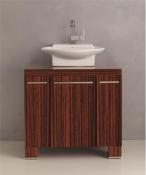 "DANZEZIGZAG - Danze <br> Ziga Zaga Collection<br> Includes Sink Top <br> Zebra Veneer<br> 30"" <BR> $599.99"