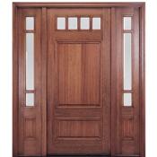 MAHTC600 - MAI 4 Lite <br>Mahogany Door <br>Pre-Hung<br> $1,550.00