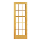 "FPDIPH - 1 3/8"" French<br>Clear Pine <br>Pre-Hung $172.99"