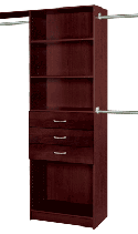 "27WSKTT - Closet Tower Starter Kit <br> T271483 <br> Truffle 27"" <br> $131.99"