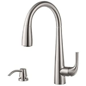 PFISTERGT529ALS - Price Pfister<br> Alea<br> Pull Down Faucet<br> Brushed Nickel<br> $139.99