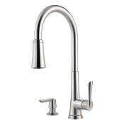 PFISTERGT529MDS - Price Pfister<br> Mystique<br> Stainless Steel<br> Single Hole<br>$139.99