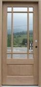 PRAIRIEDOOR - MAI Prairie Glass <br> Mahogany Door <br> Pre-Hung <br> $750.00