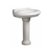 "SET27BDANZEORR - Set 27B<br> Danze Orrington Collection<br> 30"" white Pedestal<br> $124.99"